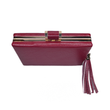 Layla Red Tassle Clutch - Styles of Soki