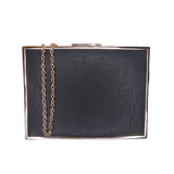 Kim Framed Clutch Black - Styles of Soki