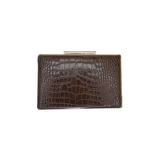 Valarie Box Mock Croc Brown - Styles of Soki