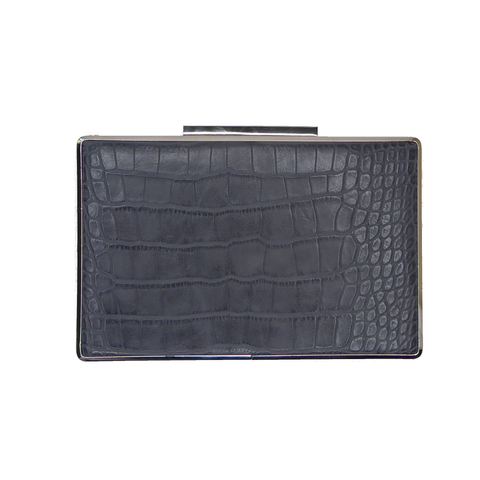 Valarie Box Mock Croc Grey - Styles of Soki