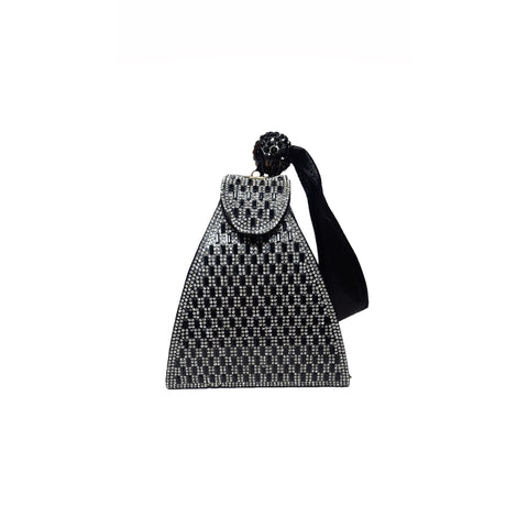 Amaya Pyramid Bag Black - Styles of Soki