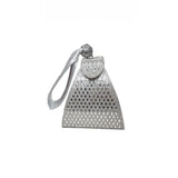Amaya Pyramid Bag Silver - Styles of Soki