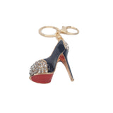 Essie Black Stiletto Heel Bag Charm/ Keyring - Styles of Soki