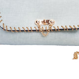 Deanna Chain Detail Bag Mint - Styles of Soki