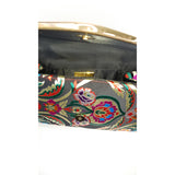 Jaci Black Embroidered Bag - Styles of Soki