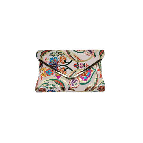 Jaci Champagne Embroidered Bag - Styles of Soki