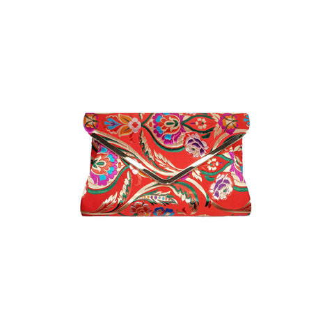 Jaci Red Embroidered Bag - Styles of Soki