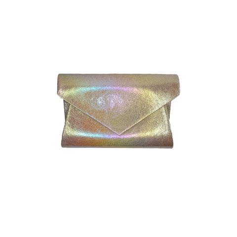 Kiki Light Metallic & Multi-coloured Bag - Styles of Soki