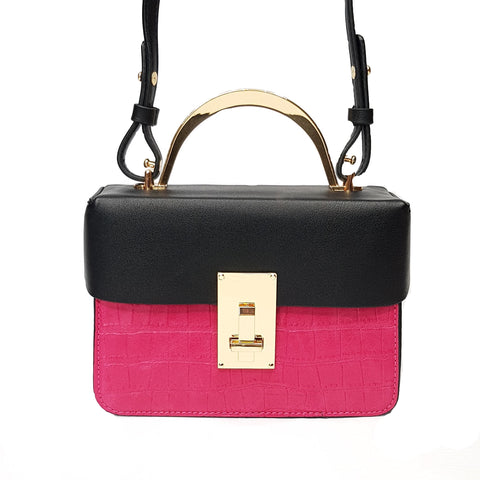 Hallie Pink Crossbody bag - Styles of Soki