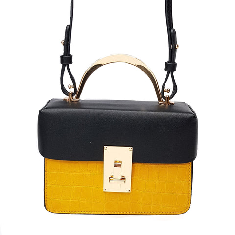 Hallie Mustard Crossbody bag - Styles of Soki
