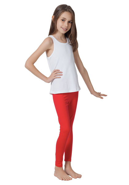 36a16613163d30 CAOMP Girl's %100 Organic Cotton Leggings For School or Play from $11.90  $14.90