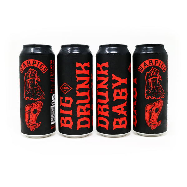 Big Drunk Baby - 4 Pack