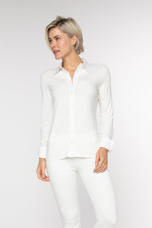 BRZ BUS 43 Blouse - Creme