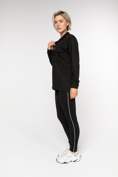 BRZ BUS 12 Legging - Black - Braez