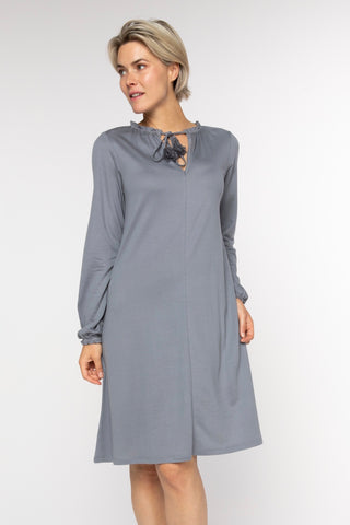 BRZ BUS 36 Dress - Navy