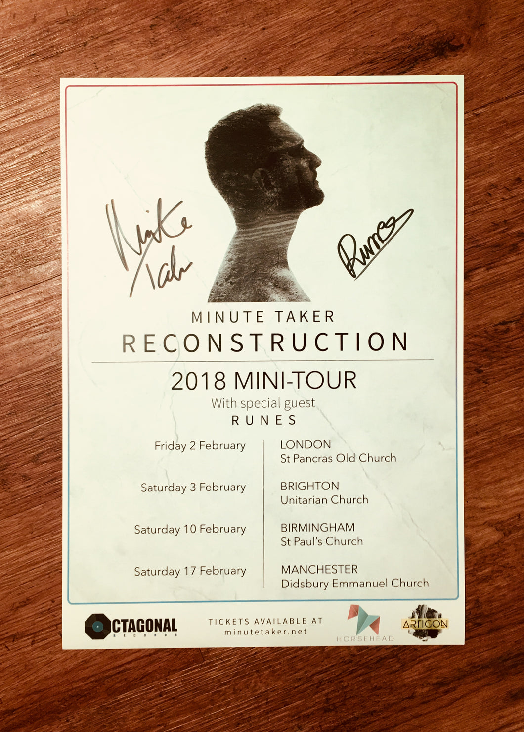 'Reconstruction' Tour Poster