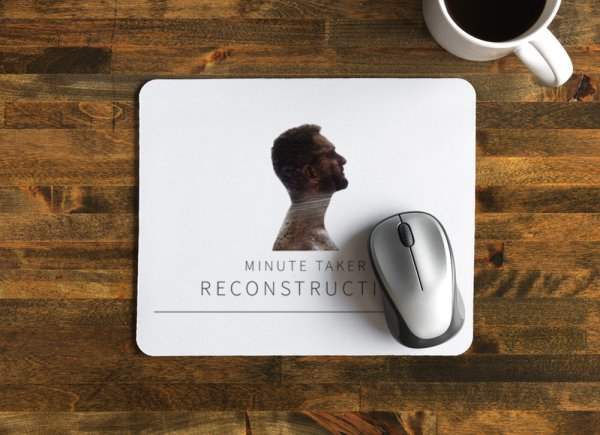 'Reconstruction' Mouse Pad