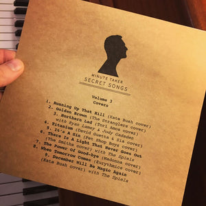 'Secret Songs' Exclusive Handmade Album Series