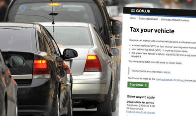 Car Tax goes up by £400!