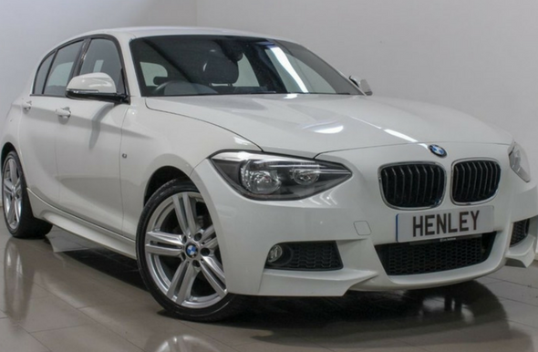 2014 64 BMW 1 SERIES 2.0 118D M SPORT 5D - From £206.76 Per Month