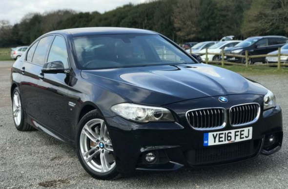 2016 16 BMW 5 SERIES 2.0 525D M SPORT 4d AUTO 215 BHP - From £368 pm NO DEPOSIT