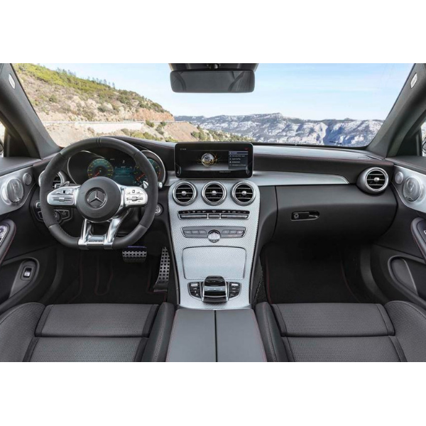 Mercedes Benz C200 Amg Line Coupe 2018 White