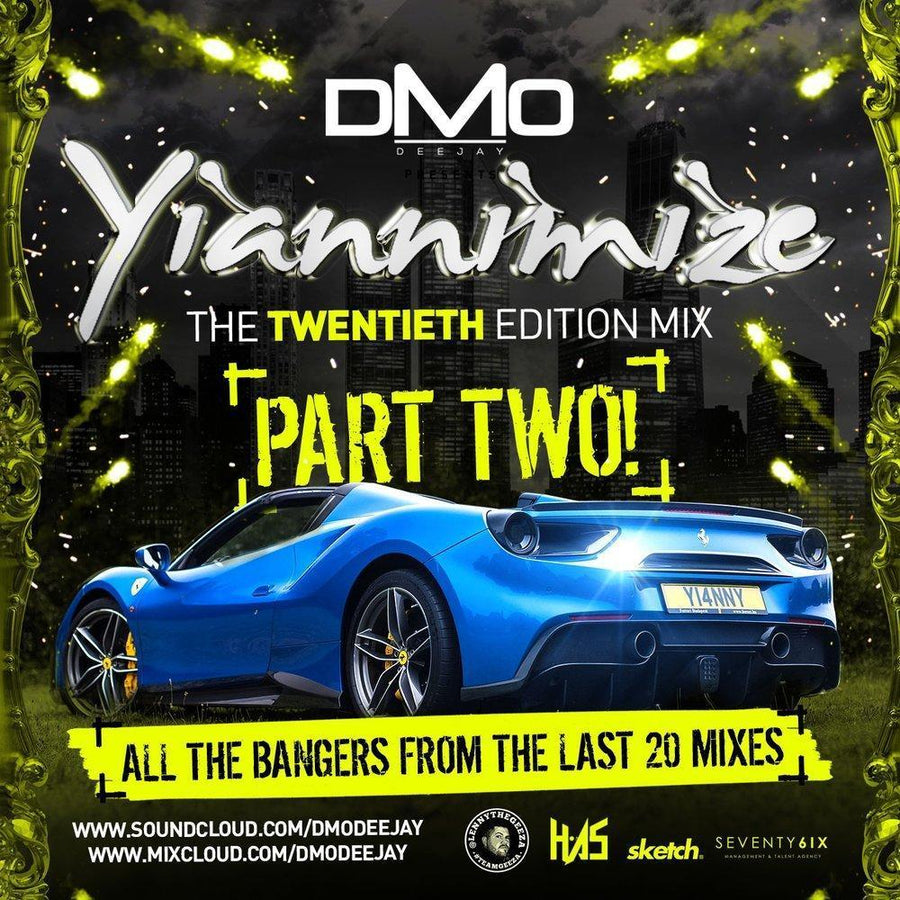 Yiannimize Mix 20 - Part 2 Tracked CD