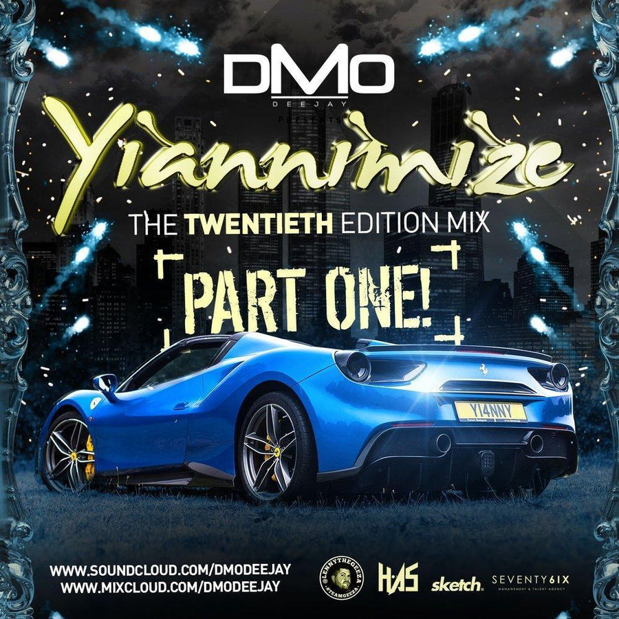 Yiannimize Mix 20 - Part 1 Tracked CD
