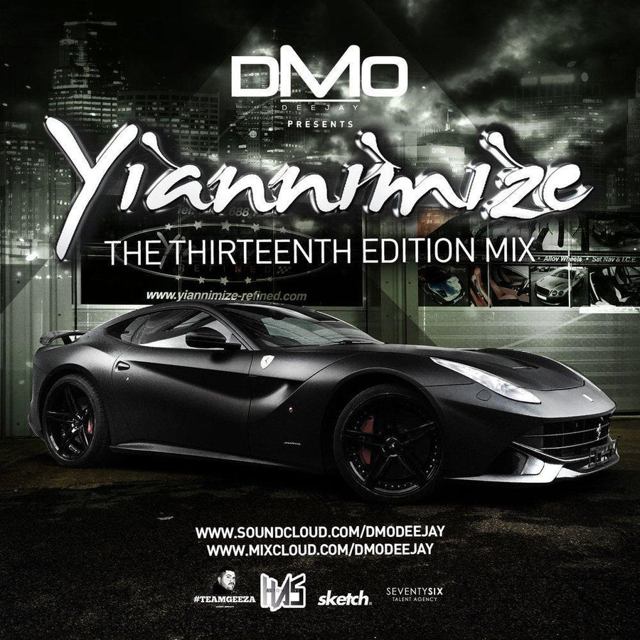 Yiannimize Mix 13 Tracked CD
