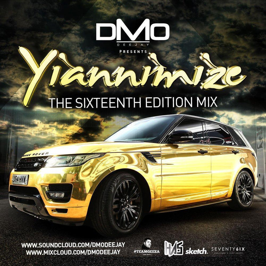 Yiannimize Mix 16 Tracked CD