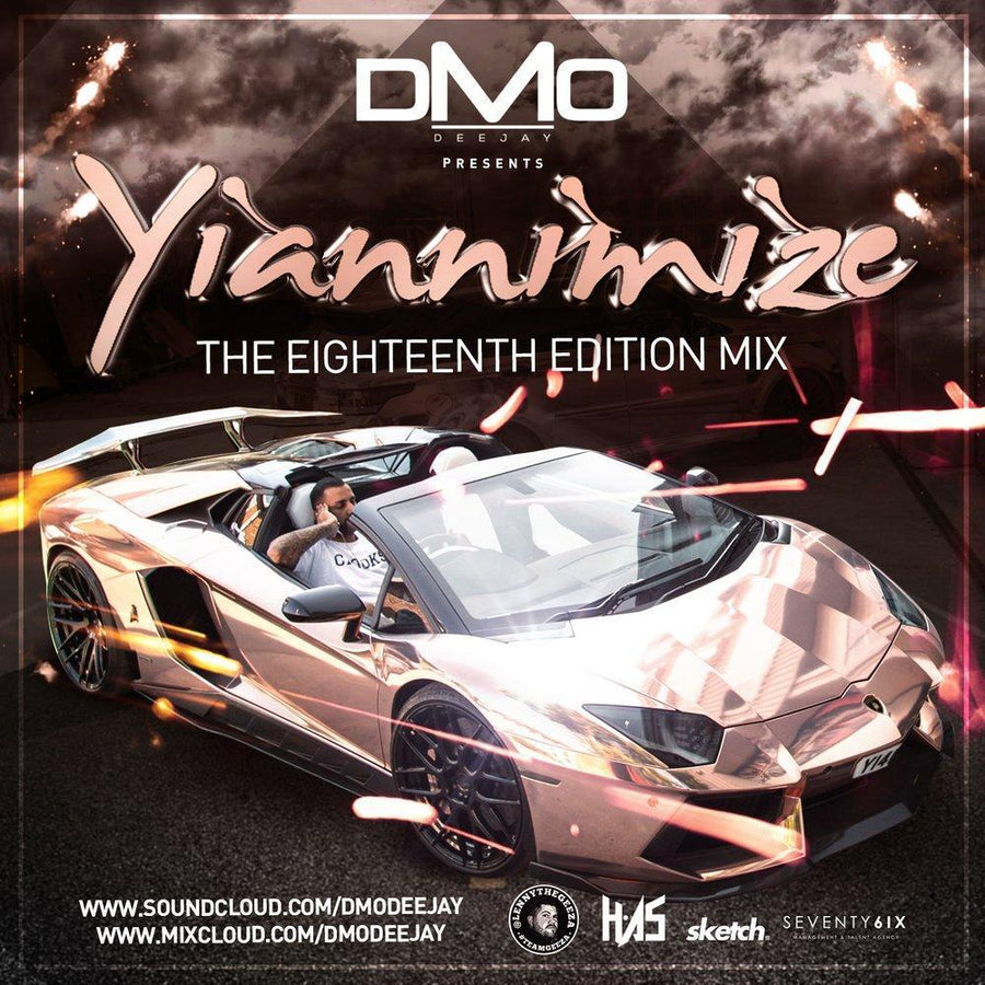 Yiannimize Mix 18 Tracked CD