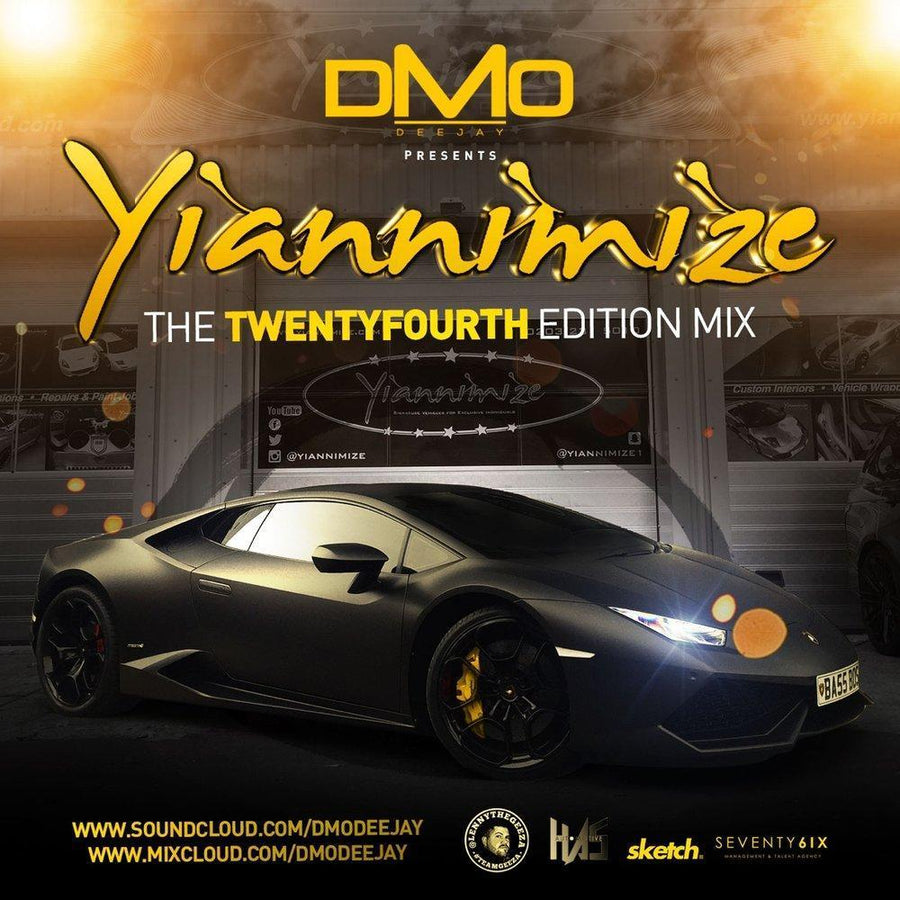 Yiannimize Mix 24 Tracked CD