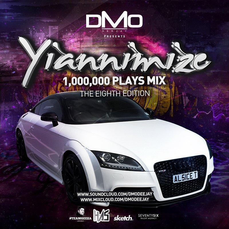 Yiannimize Mix 8 Tracked CD