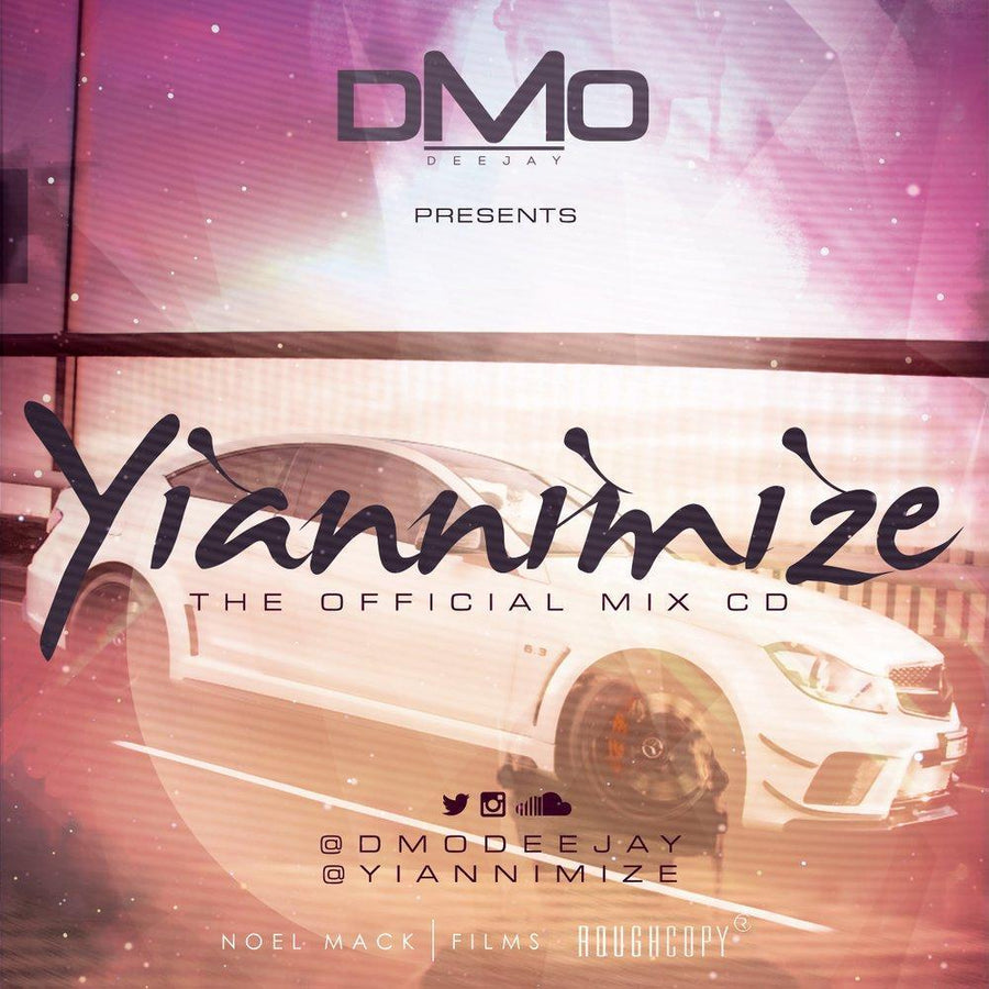 Yiannimize Mix 1 Tracked CD