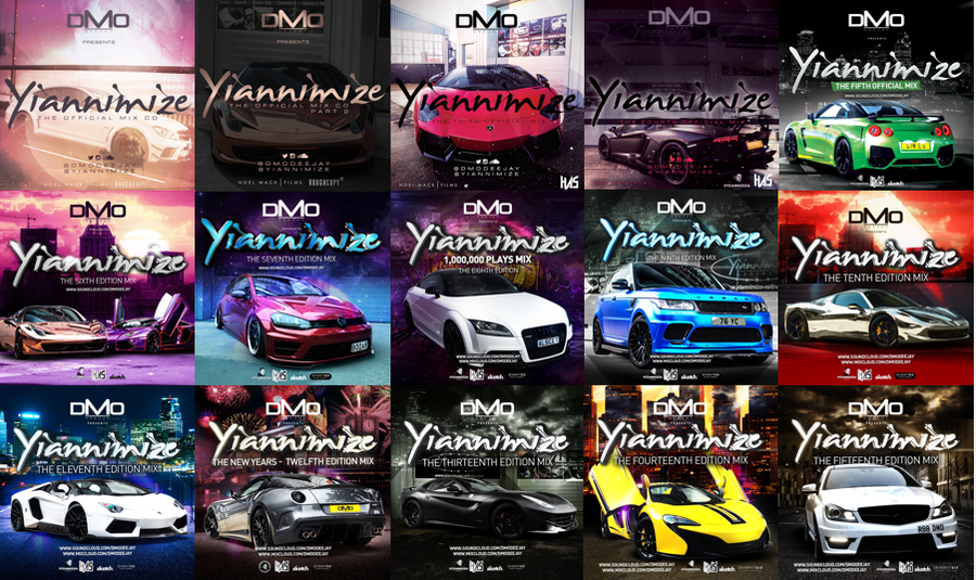 Yiannimize Mix 1 - 28 Full *LIMITED* CD Pack Bundle *Special Offer*