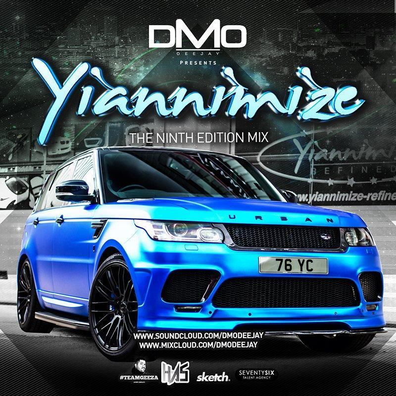 Yiannimize Mix 9 Tracked CD