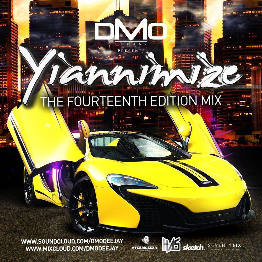 Yiannimize Mix 14 Tracked CD