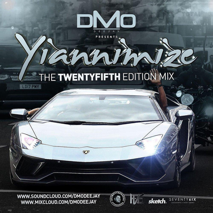 Yiannimize Mix 25 Tracked CD