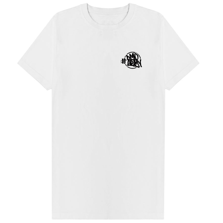 ORIGINAL #DMOARMY T-SHIRT WHITE