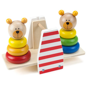 Wooden Wonders Balancing Bears