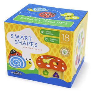 8pc Wooden Wonders Smart Shapes Playset | Wooden Toys | Montessori Toys