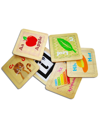Interactive Alphabet Cards | Wooden Toys | Montessori Toys