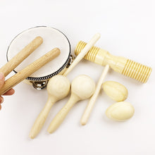 Wooden Percussion Set (8 Pieces) | Wooden Toys | Montessori Toys