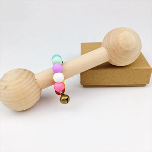 Wooden Montessori Teething Rattle | Wooden Toys | Montessori Toys