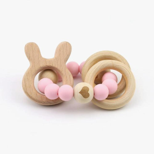 Wooden Teething Bracelet In 4 Designs | Wooden Toys | Montessori Toys
