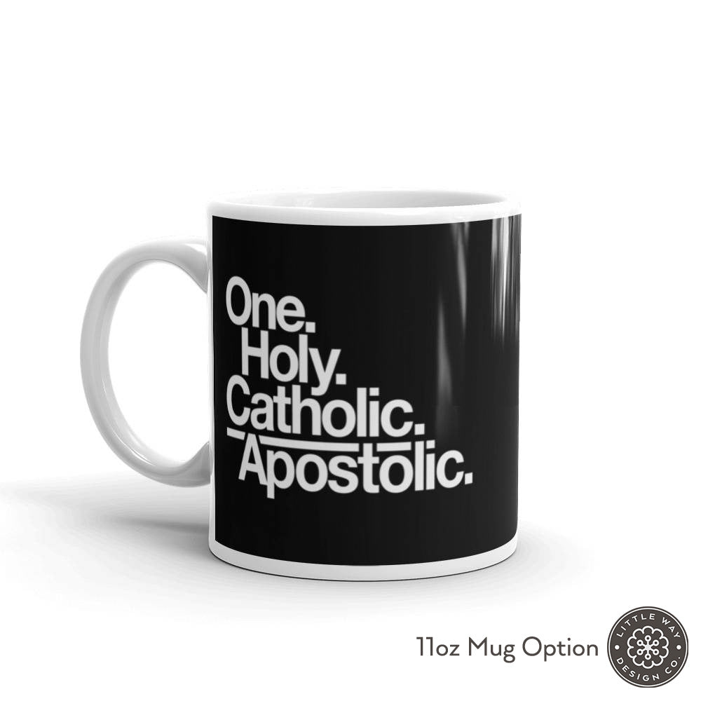 catholic mug 11oz