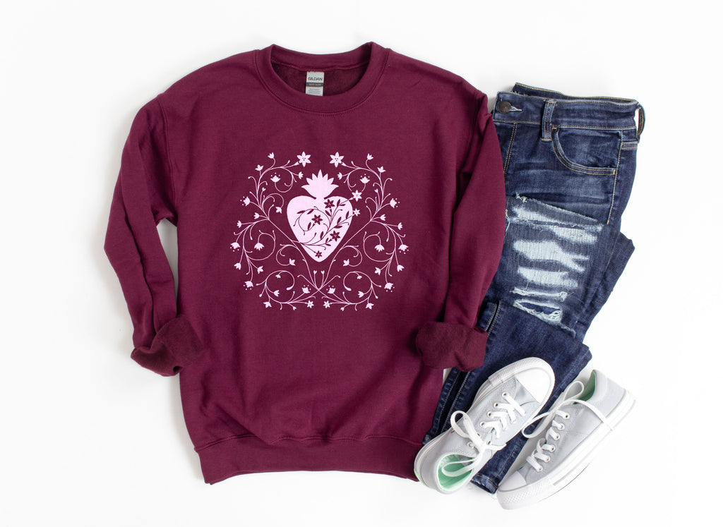 Chaste Heart of St. Joseph Sweatshirt