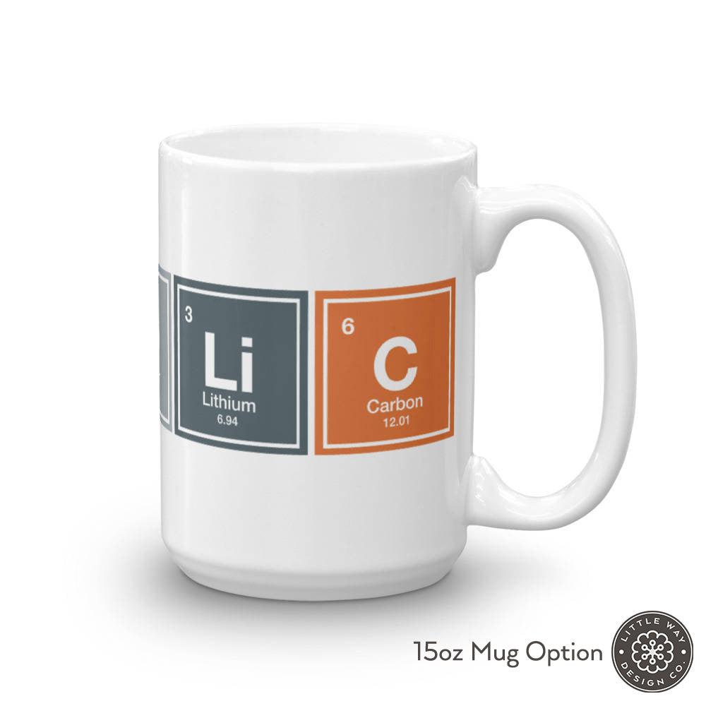 Catholic Periodic Table Mug