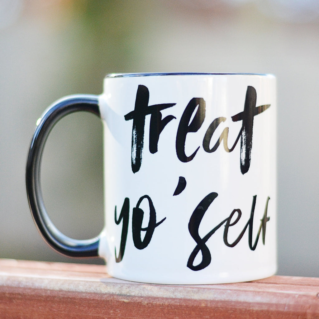 Treat Yo Self Sirach Mug