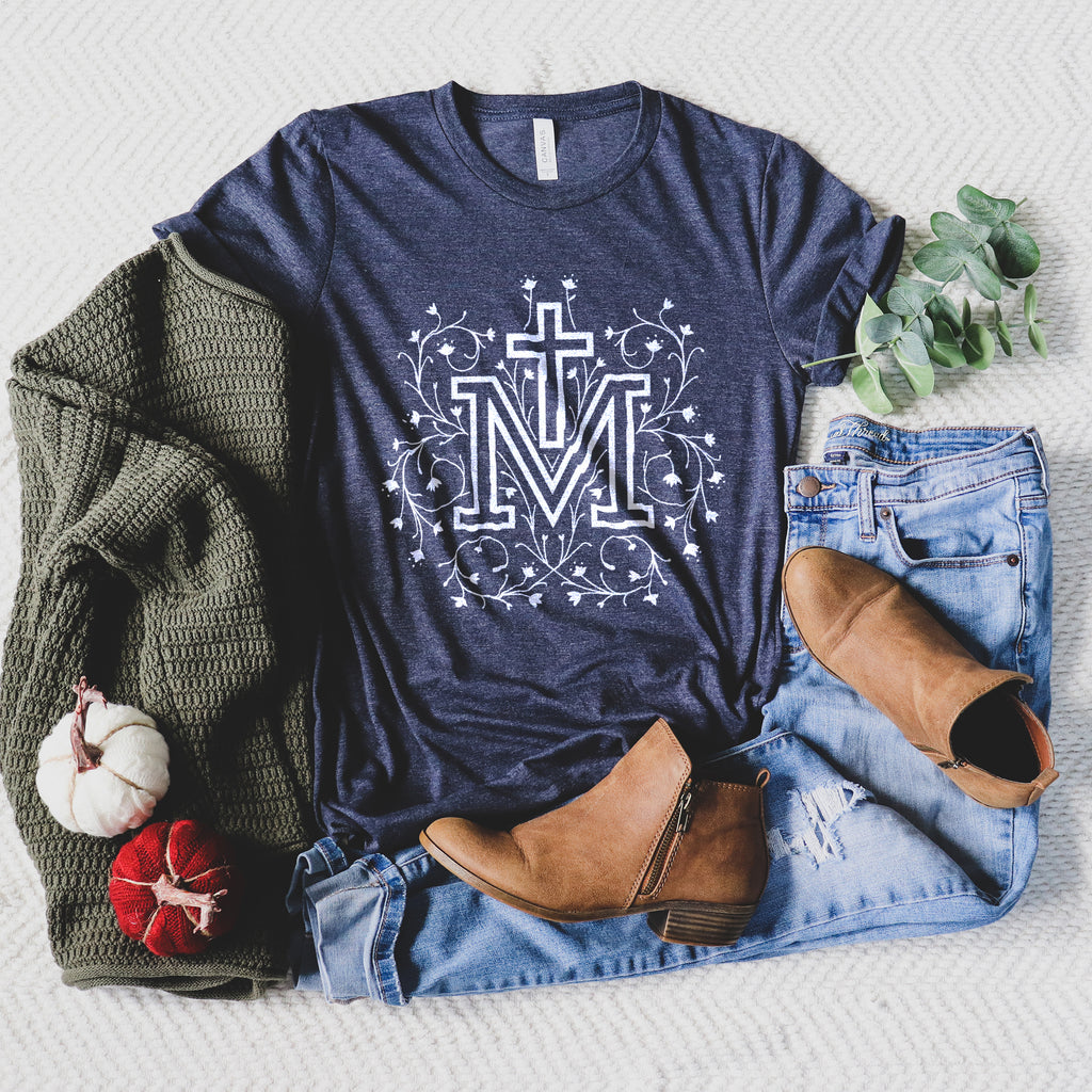 Marian Cross Crewneck T-shirt